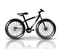 Vector bike Royalty Free Stock Image