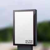 Vector Billboard Stock Image