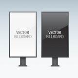 Vector billboards. Royalty Free Stock Images