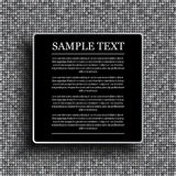 Vector black background on shiny silver sequins. Royalty Free Stock Photo