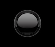Vector black button Stock Photos
