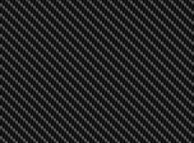 Vector black carbon fiber seamless background Royalty Free Stock Photography