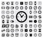 Clocks icon Royalty Free Stock Photography