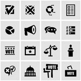 Vector black education icon set Royalty Free Stock Image