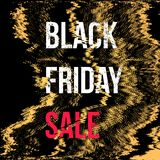 Vector black friday sale background Stock Image