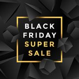 Vector black friday sale background Royalty Free Stock Photo
