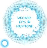 Vector Black Halftone. Design Element Royalty Free Stock Image