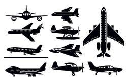 Planes icon royalty free illustration