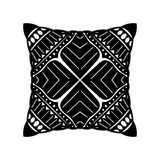 Vector Black Square Pillow Royalty Free Stock Photos