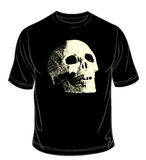 Vector. Black t-shirt Stock Images
