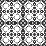 Vector Black and White decorative repeatable design stock illustration