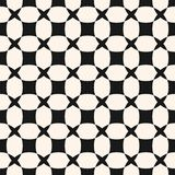 Vector geometric seamless pattern with grid, lattice, net, squares. Royalty Free Stock Photo