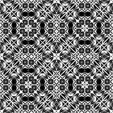 Abstract background illustration and clipart. Vector BLACK WHITE PATTERN DESIGN 3d and computer generated vactor Vector BLACK WHITE PATTERN DESIGN GEOMETRIC Stock Photos