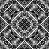 Vector BLACK WHITE PATTERN DESIGN GEOMETRIC Royalty Free Stock Images
