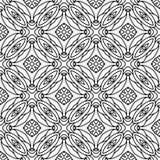 Vector BLACK WHITE PATTERN DESIGN GEOMETRIC royalty free stock photography