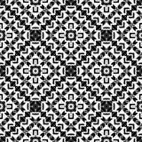 Vector BLACK WHITE PATTERN DESIGN GEOMETRIC Stock Images