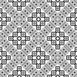 Vector BLACK WHITE PATTERN DESIGN GEOMETRIC Stock Photo
