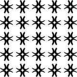 Vector BLACK WHITE PATTERN DESIGN GEOMETRIC Royalty Free Stock Image