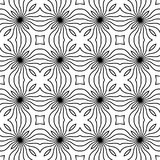 Vector BLACK WHITE PATTERN DESIGN Stock Images