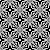 Vector BLACK WHITE PATTERN DESIGN GEOMETRIC royalty free stock photos