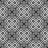 Vector BLACK WHITE PATTERN DESIGN GEOMETRIC royalty free stock photo