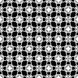 Vector BLACK WHITE PATTERN DESIGN SEAMLESS Stock Photo