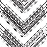 Vector black and white pattern Stock Image