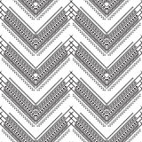 Vector black and white pattern Stock Photography