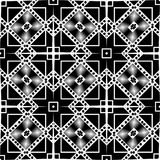 Vector BLACK WHITE SEAMLESS PATTERN DESIGN. Black and white Seamless Repeating Vector Pattern. Elegant Design in Baroque Style Background Texture. Black and Stock Photography