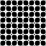 Vector Black and White seamless pattern design stock photography
