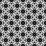 Vector Black and White seamless pattern design royalty free stock photos