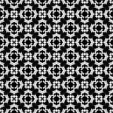Vector Black and White seamless pattern design Royalty Free Stock Photo