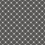 Vector Black and White seamless pattern design Royalty Free Stock Images
