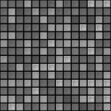 Vector black & white tile seamless texture Stock Image