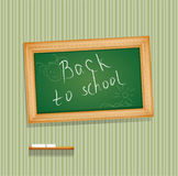 Vector blackboard hanging on the wall Royalty Free Stock Images