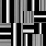 Vector blanco y negro del modelo Foto de archivo