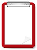 Vector blank clipboard for your design Royalty Free Stock Images