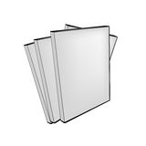 Vector blank dvd cases Stock Photo