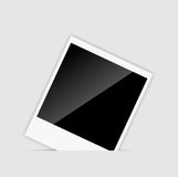 Vector blank Instant photos vector vector Royalty Free Stock Photography