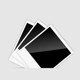 Vector blank Instant photos vector vector. Vector blank  Instant photos vector vector illustration. This is file of EPS10 format Stock Image
