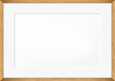 Vector blank of Photo frame Stock Image