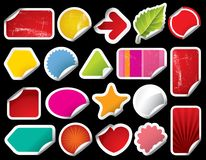 Vector Blank Sticker Stock Photos