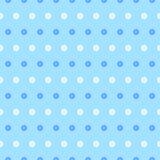Vector blauw bloementextuurpatroon Royalty-vrije Stock Foto's