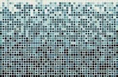 Vector blauw rechthoekpatroon Stock Afbeelding