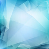 Vector blauwe abstracte achtergrond Stock Afbeeldingen