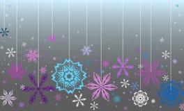 Vector blauwe achtergrond Stock Foto's