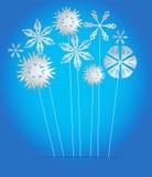 Vector blauwe achtergrond Royalty-vrije Stock Afbeeldingen