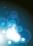 Vector blauwe Achtergrond Royalty-vrije Stock Afbeelding