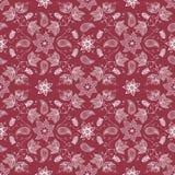 Vector bloem naadloos patroon Royalty-vrije Stock Foto's