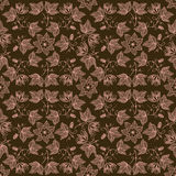 Vector bloem naadloos patroon Stock Foto's